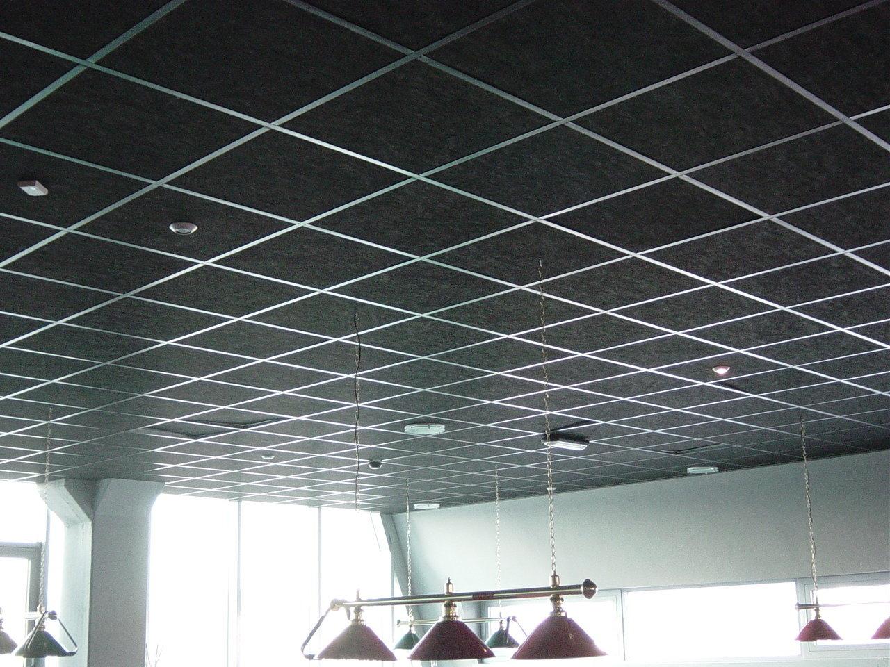 Потолки подвесные